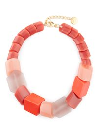 Jaeger - Multicolor Renee Necklace - Lyst