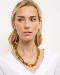 Jaeger - Metallic Ella Multi Strand Necklace - Lyst