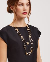 Jaeger - Metallic Zaha Link Necklace - Lyst