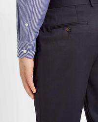 Jaeger - Blue Regular Bold Stripe Shirt for Men - Lyst