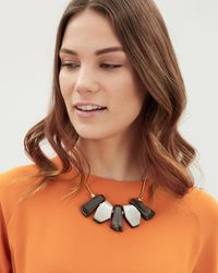 Jaeger - Multicolor Penny Piano Necklace - Lyst