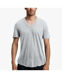 James Perse - Blue Clear Jersey V-neck for Men - Lyst
