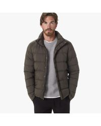James Perse - Green Yosemite Matte Nylon Puffer Jacket for Men - Lyst
