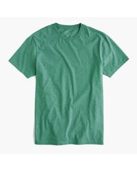 J.Crew | Green Slim Broken-in T-shirt for Men | Lyst