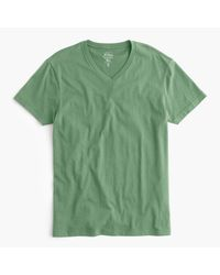 J.Crew | Green Slim Broken-in V-neck T-shirt for Men | Lyst