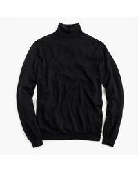 J.Crew   Black Merino Wool Turtleneck Sweater for Men   Lyst