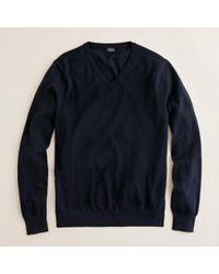 J.Crew | Black Slim Cotton-cashmere V-neck Sweater for Men | Lyst