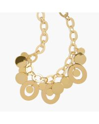 J.Crew | Metallic Orbit Necklace | Lyst