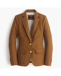 J.Crew - Brown Rhodes Blazer In Italian Wool - Lyst