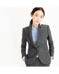 J.Crew | Gray Campbell Blazer In Sparkle Donegal Wool | Lyst