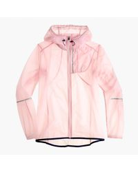 J.Crew | Pink New Balance Packable Jacket | Lyst