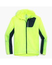 J.Crew   Green New Balance Lightweight Packable Jacket for Men   Lyst