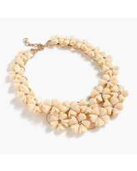 J.Crew | Metallic Petunia Necklace | Lyst