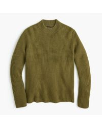 J.Crew - Green Everyday Cashmere Mockneck Sweater for Men - Lyst