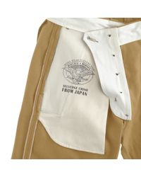 J.Crew - Natural Wallace & Barnes Japanese Selvedge Chino for Men - Lyst