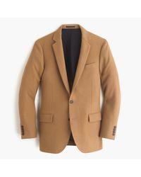 J.Crew | Brown Ludlow Blazer In English Wool for Men | Lyst