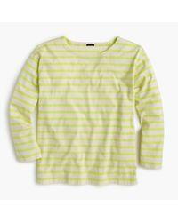 J.Crew | Multicolor Long-sleeve Striped Crewneck T-shirt for Men | Lyst