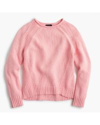 J.Crew - Pink The 1988 Rollneck Sweater - Lyst