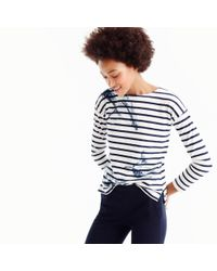 J.Crew - Blue For The Royal Ontario Museum Whale T-shirt - Lyst
