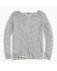 J.Crew | Black 10 Percent Deck T-shirt In Stripe | Lyst
