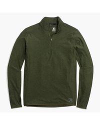 J.Crew | Green New Balance Half-zip Pullover for Men | Lyst