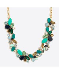 J.Crew - Multicolor Mixed Stones Necklace - Lyst