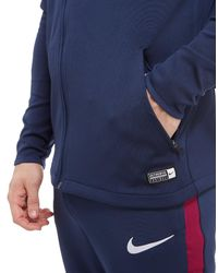 Nike - Blue Manchester City Fc Aeroswift Track Top for Men - Lyst