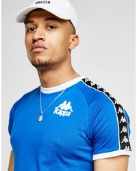 Kappa - Blue Authentic Raul T-shirt for Men - Lyst