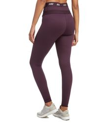 Nike - Purple Zonal Strength Tights - Lyst
