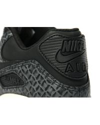 Nike - Black Air Max 90 Premium for Men - Lyst