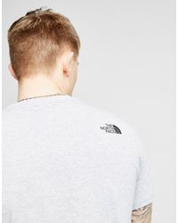 The North Face - Gray Celebration Easy T-shirt for Men - Lyst