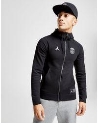 8e999765b35 Nike X Paris Saint Germain Wings Full Zip Hoodie in Black for Men - Lyst
