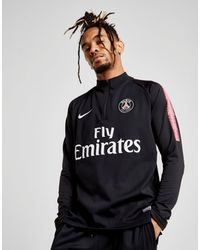 b8bd2d7b1 Black Paris Saint-germain Dri-fit Squad Drill Men s Long-sleeve Football Top