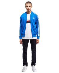 Adidas Originals - Blue Superstar Track Top for Men - Lyst