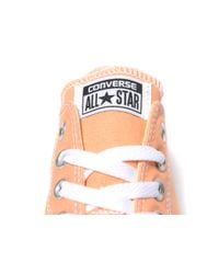 Converse - Yellow All Star Ox - Lyst