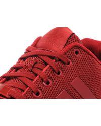Adidas Originals - Red Zx Flux for Men - Lyst