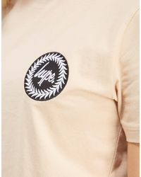 Hype - Natural Crop Patch T-shirt - Lyst