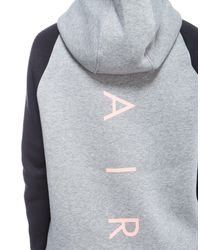Nike | Gray Air Full Zip Hoody | Lyst
