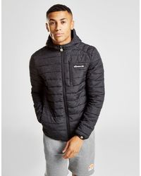 Ellesse - Black Lobinos Reflective Padded Jacket for Men - Lyst