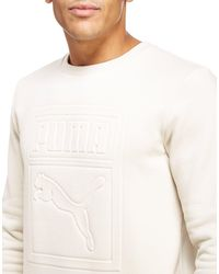 PUMA - Multicolor Archive Embossed Logo Sweatshirt for Men - Lyst