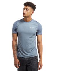 Nike | Gray Dry Miler T-shirt for Men | Lyst