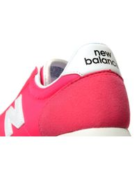 New Balance - Pink 220 Junior - Lyst