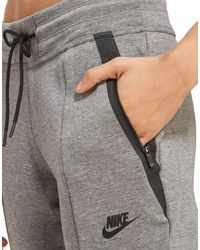 Nike - Gray Tech Fleece Pants - Lyst