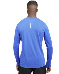 Nike - Blue Zonal Cooling Relay Longsleeve T-shirt for Men - Lyst
