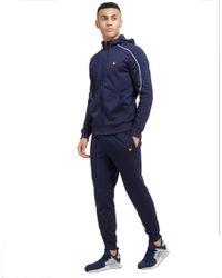 Lyle & Scott - Blue Finney Fleece Pants for Men - Lyst