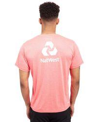 New Balance - Pink Ecb Training Cotton T-shirt for Men - Lyst