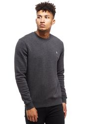 Original Penguin | Gray Secret Sam Crew Sweatshirt for Men | Lyst