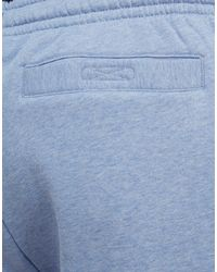 Lacoste - Blue Premium Fleece Shorts for Men - Lyst