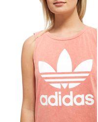 Adidas Originals - Pink Ocean Elements Tank Top - Lyst