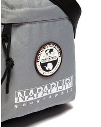 Napapijri - Gray Happy Cross Body Bag for Men - Lyst